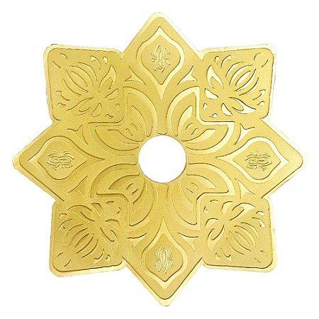 Prato Zeus Hookah Elemental Soft  - Dourado