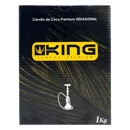 Carvão King Premium - 1Kg