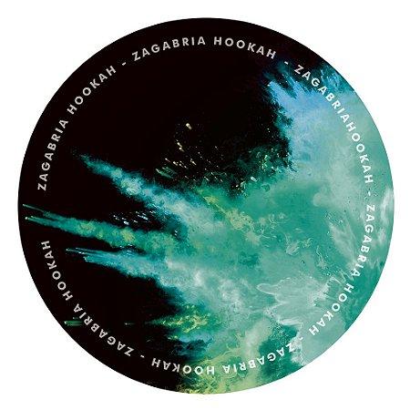 Tapete Zagabria Hookah Smoke - Verde