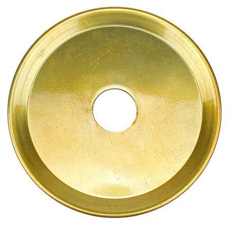 Prato ZH Médio 19cm - Dourado