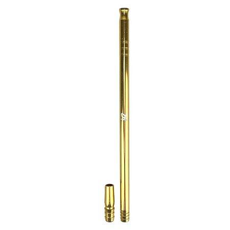 Piteira ZH 30cm - Dourado