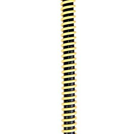 Silicone Refil ZH Helix - Preto com Dourado