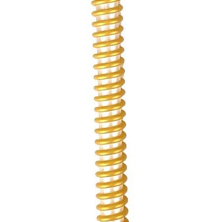 Silicone Refil ZH Helix - Perolado com Dourado