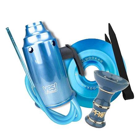Kit Acessórios para Narguile - Azul KIT01