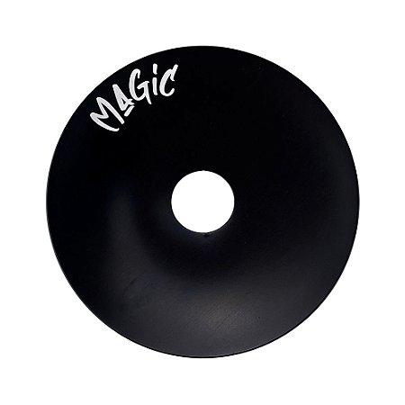 Prato Magic Pequeno 15cm - Preto