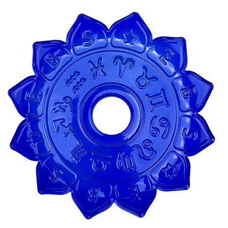 Prato EBS Hookah Signum M 22cm - Azul Escuro