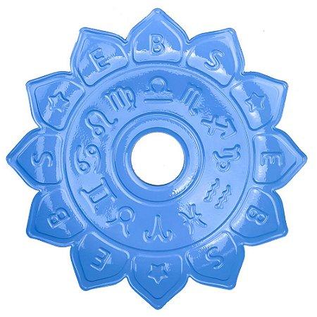 Prato EBS Hookah Signum M 22cm - Azul Claro