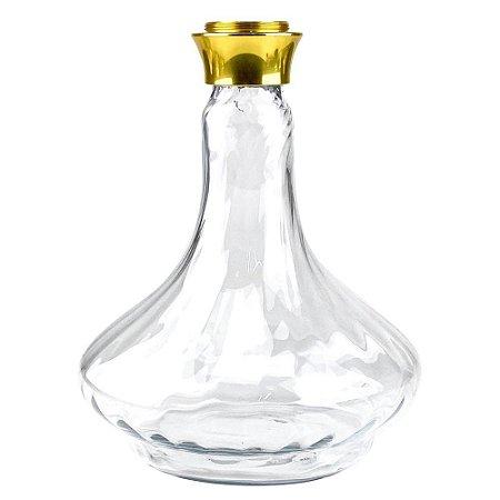 Vaso Reposição Future Dourado/Twist/Clear