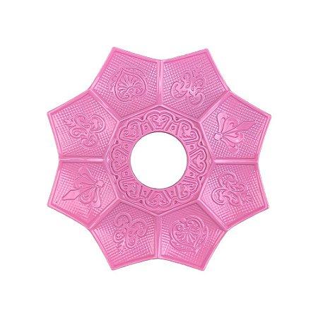 Prato EBS Hookah New Lotus Mini 16cm - Rosa Claro