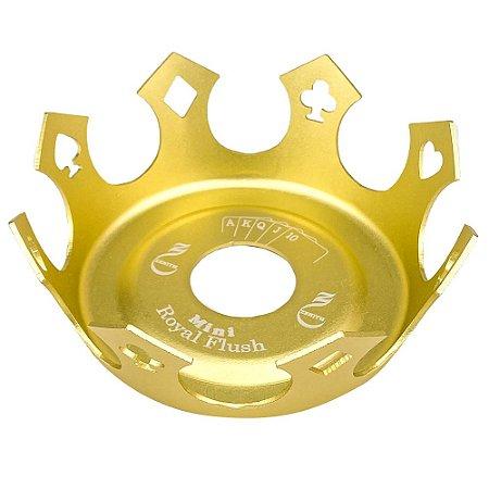 Prato Zenith Coroa Mini - Dourado