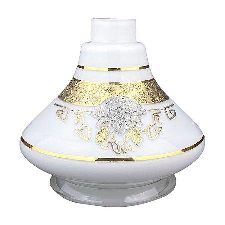 Vaso Bless Mini Lamp Detalhes - Branco