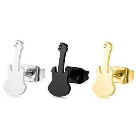 Brinco Masculino Guitarra - PAR