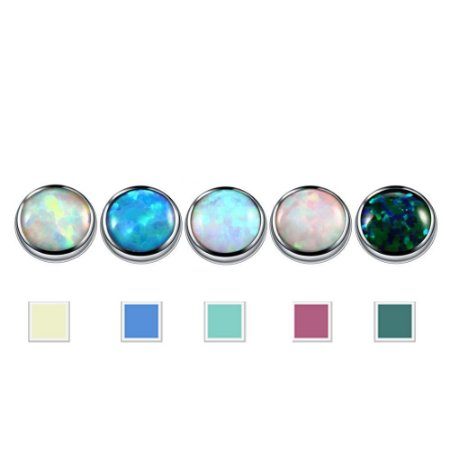 Piercing Microdermal Pedras - 1 Peça