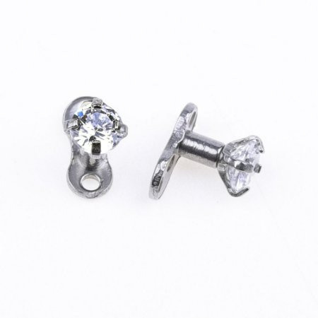 Piercing Microdermal Diamond - 1 Peça
