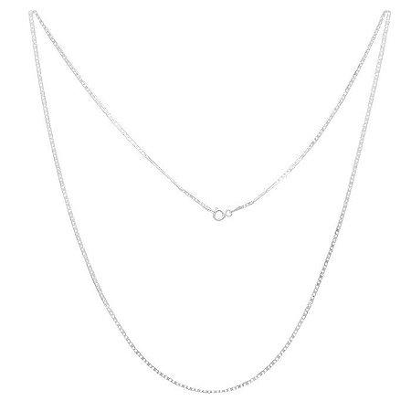 Corrente de Prata Palito Masculina 60cm - Prata 925