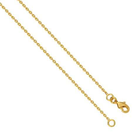 Corrente / Cordão de Ouro Masculino Folheado 18k Cartier