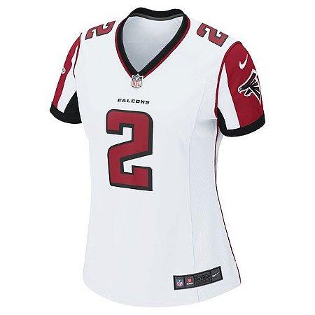 eca83990cf193 Camisa Feminina NFL Atlanta Falcons Futebol Americano  2 Ryan ...