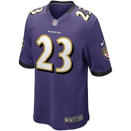 8ce3d2c6b Camisa NFL Baltimore Ravens Futebol Americano  23 Jefferson - Sport ...