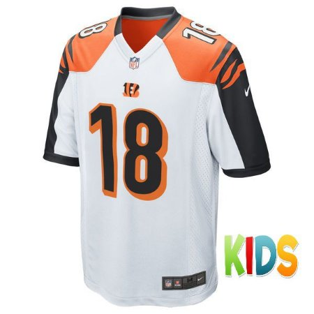 cb0abe5e54bc8 Camisa Infantil NFL Cincinnati Bengals Futebol Americano  18 Green