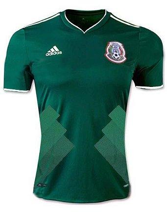 Camisa Seleção México Home Copa do Mundo 2018 - Personalização e Frete  Grátis 6793b18305104