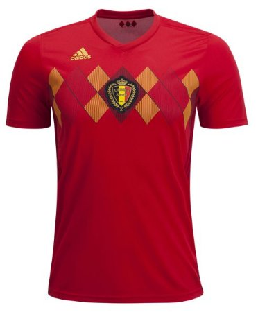 Camisa Seleção Bélgica Home Copa do Mundo 2018 - Personalização e Frete Grátis