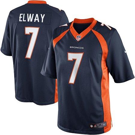 Frete Grátis. Código  V5BY2X38M. Camisa NFL Denver Broncos Futebol  Americano  7 John Elway 2fd8361a648e6