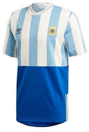 c40048b257 Camisa Seleção Argentina Copa de 2018 Edição Especial - Personalização e  Frete Grátis