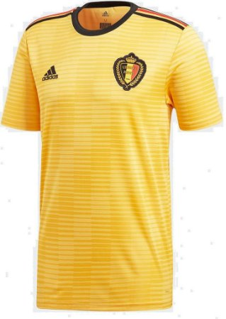 Camisa Seleção Bélgica Away Copa do Mundo 2018 - Personalização e Frete Grátis