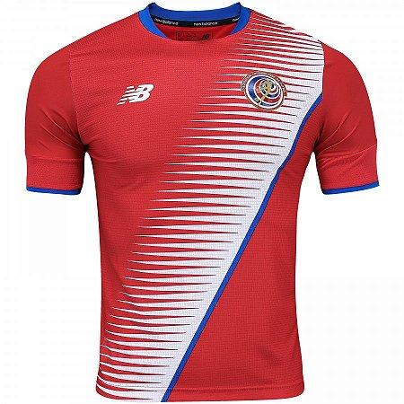 70ac8d916c Camisa Seleção Costa Rica Home Copa do Mundo 2018 -Personalização e Frete  Grátis