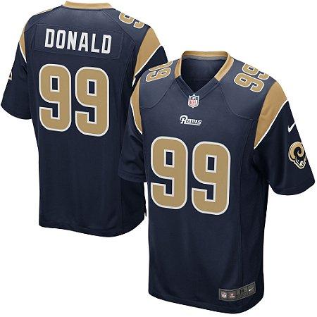 Camisa NFL Los Angeles Rams Aaron Donald - Sport Jersey - Melhores ... 93019310f3b24