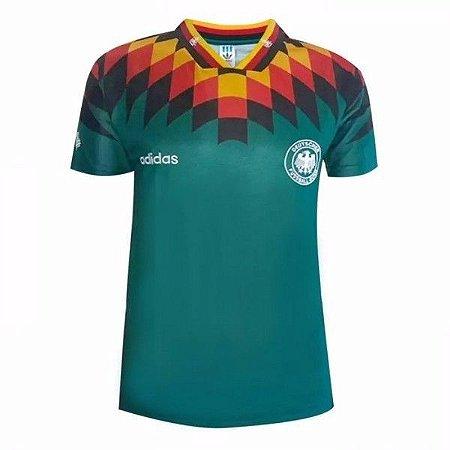 016cde21844f1 Camisa Seleção Alemanha Copa de 1994 Retro - Personalização e frete Grátis