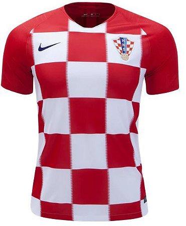 823a9b417a Camisa Seleção Croácia Home Copa do Mundo 2018 - Super Lançamento - Personalização  e Frete Grátis