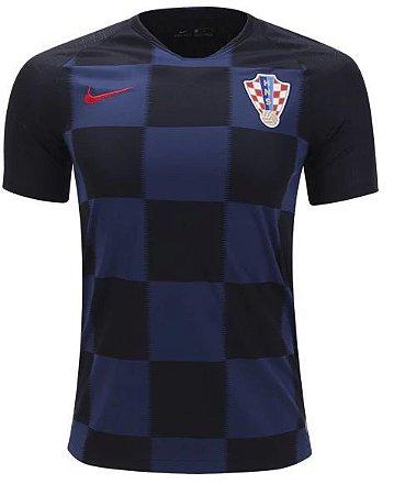 Camisa Seleção Croácia Away Copa do Mundo 2018 - Super Lançamento - Personalização e Frete Grátis