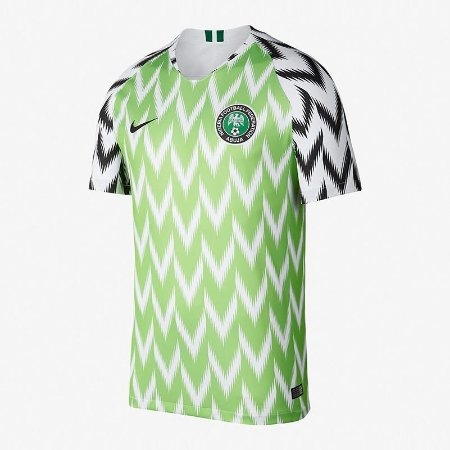 56d7308fcc3ad Camisa Nigéria Home 2018 Personalização e Frete Grátis - Sport ...