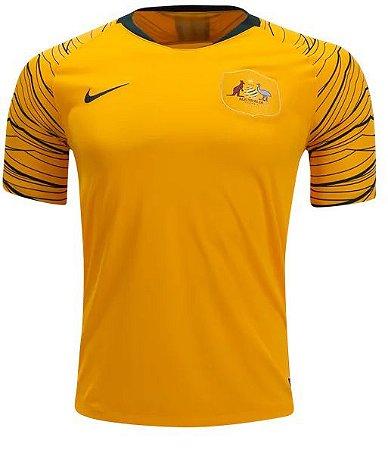 a24073767c981 Camisa Seleção Austrália Home Copa do Mundo 2018 - Personalização e frete  Grátis