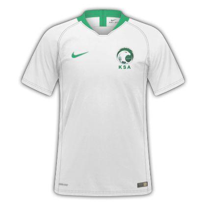 Camisa Seleção Arabia Saudita Home Copa do Mundo de 2018 - Personalização e Frete  Grátis a0d2a2d057003