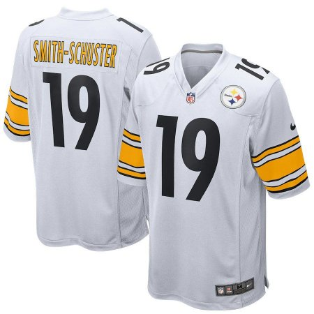 bec43379aef3a Camisa Nfl Futebol Americano Pittsburgh Steelers  19 Smith-Schuster ...