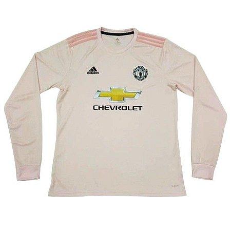 a8646a89d Camisa Manchester United Away Manga Longa 2018 2019 - Personalização e Frete  Grátis