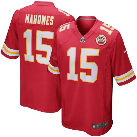 Camisa Nfl Kansas City Chiefs Futebol Americano  15 Mahomes - Sport ... 0962601c741