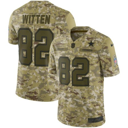 8a291c0837 Camisa NFL Dallas Cowboys Futebol Americano  82 Witten - Sport ...