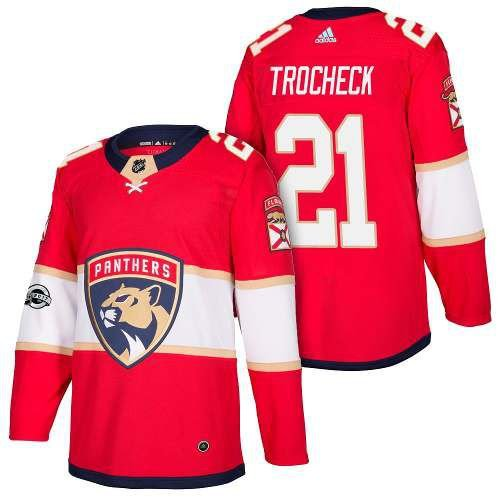 d28b62eb2 Camisa Jersey Nhl Florida Panthers 1 Hockey  21 Trocheck - Sport ...