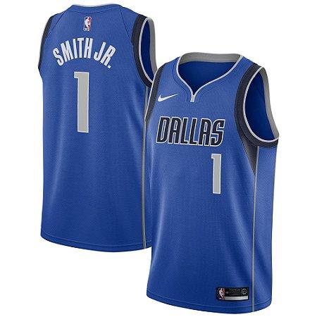 Camisa Regata Nba Basquete 2 Dallas Mavericks #1 Smith Jr