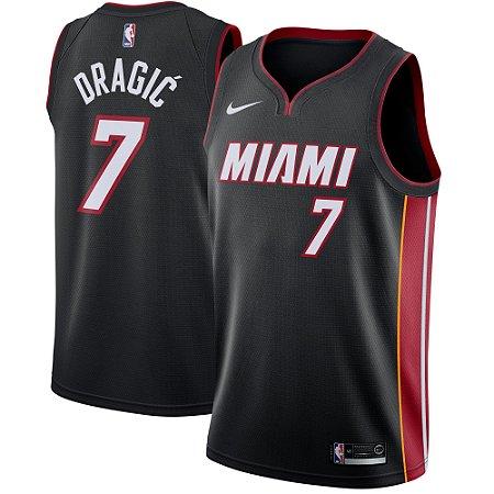 ada657a21 Camisa Regata Nba Basquete Miami Heat  7 Dragic - Sport Jersey ...