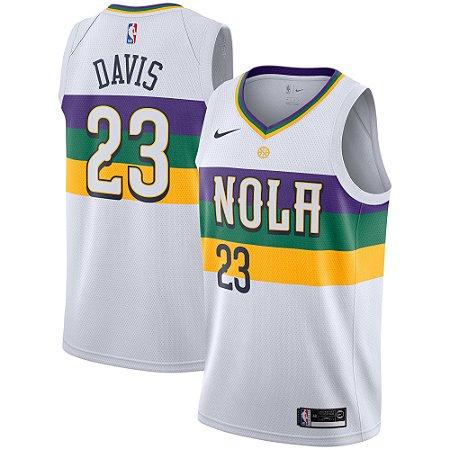 2ff5c1e9e Camisa Regata Nba Basquete 5 New Orleans Pelicans  23 Davis - Sport ...