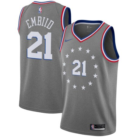 48c45c4aabd78 Camisa Regata Basquete Nba Philadelphia 76ers  21 Embiid - Sport ...