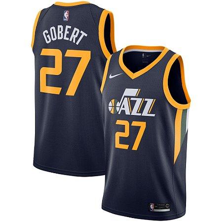 10f80c0b8 Camisa Regata Basquete Nba 2 Utah Jazz  27 Rudy Gobert - Sport ...