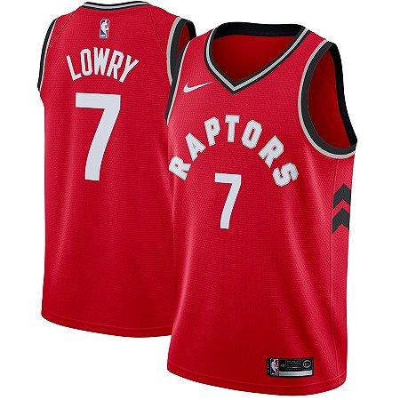 Camisa Regata Basquete Nba Toronto Raptors #7 Lowry