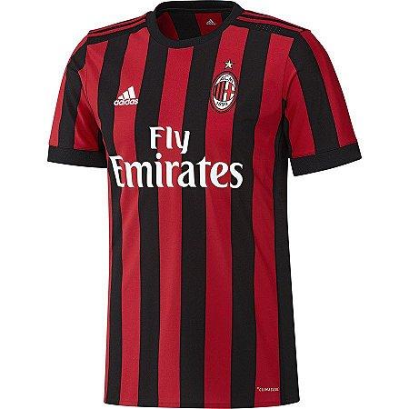 Camisa Milan AC 2019 home Personalização e Frete Grátis