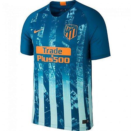 Camisa Atletico de Madrid 2019 third Personalização e Frete Grátis