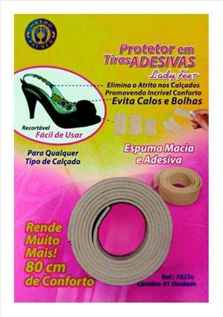 Protetor em tiras adesivas Lady Feet - uni - Ortho Pauher